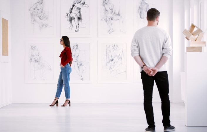 Doelgroep bewondert werk van curator