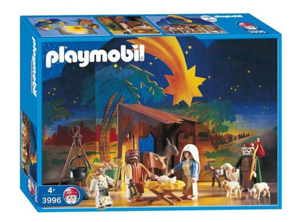 Kerststal Playmobil