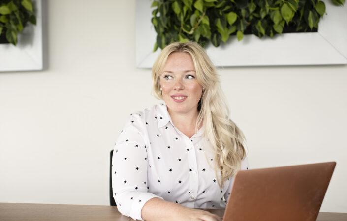 Re-integratiespecialist Kim Aupers