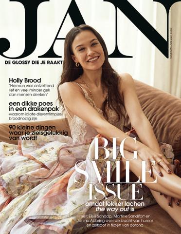 De cover van Jan Magazine