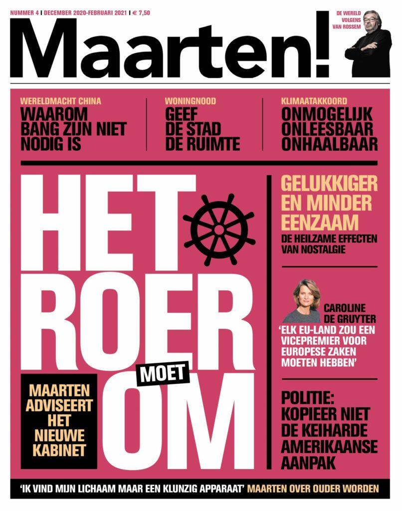 Cover van Maarten!