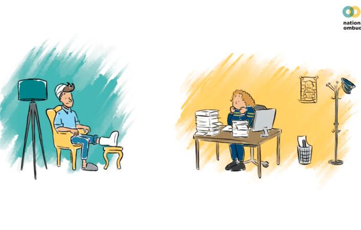 Screenshot animatie Nationale ombudsman