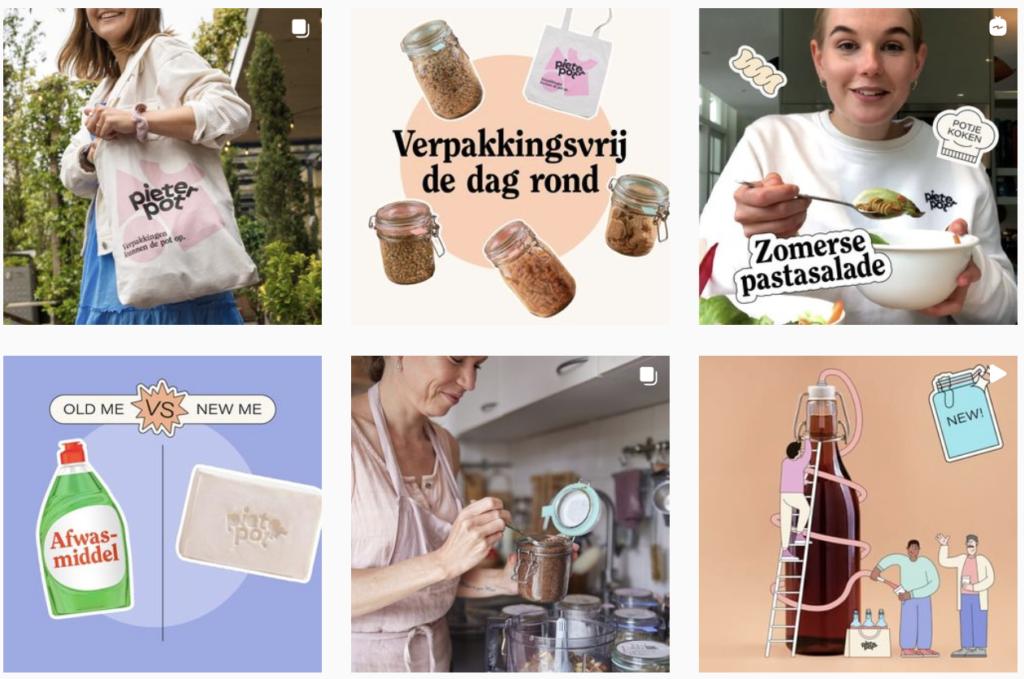 Instagram Pieter Pot - Beklijf Betekenisvolle Business